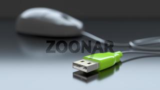 computer mouse plug