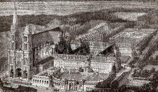 Maison d'éducation annex to Saint-Denis,  France, 19th century