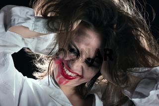 crazy fun woman