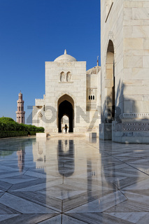 Sultan Qaboos Grand Mosque. Sultanate of Oman. Saltanat ʿUmān.