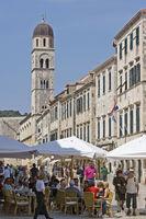 Der Stradun, die Hauptgasse Dubrovniks