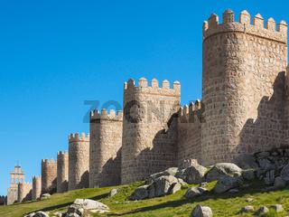 Stadtmauer von Avila, Spanien
