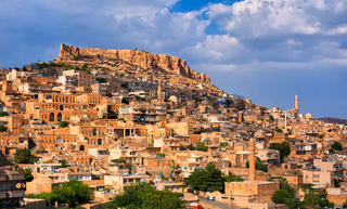 Panoramic view of Mardin, Turkey