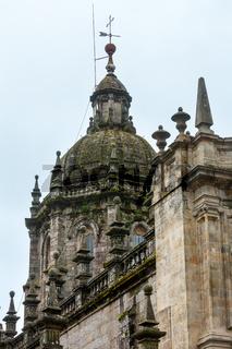 Cathedral of Santiago de Compostela, Spain.
