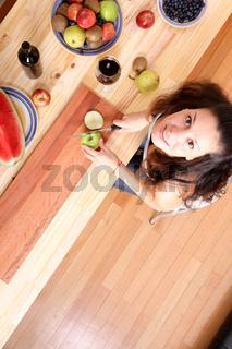 Cutting fruits
