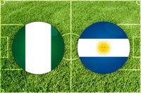 Nigeria vs Argentina football match