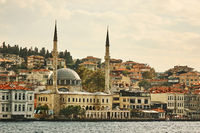 beautiful panoramic view of the city Turkey Istanbul