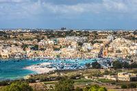 Old fisherman village of Marsaxlokk, Malta