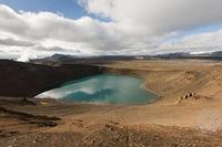 Island, der Krater Stóra Víti