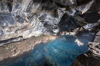 Grjotagja Grotte Island