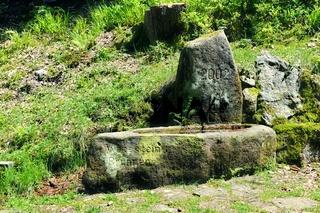 Wetzstein Brunnen Seebach Schwarzwald