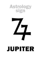 Astrology: planet JUPITER