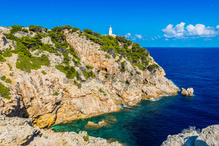 Lighthouse close to Cala Rajada, Majorca