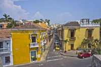 Cartagena, street view, Colombia