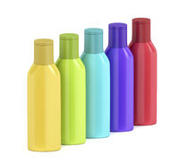 Plastic bottles for cosmetic liquids