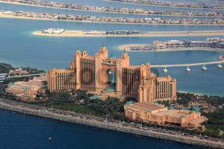 Dubai Atlantis Hotel The Palm Palme Insel Luftaufnahme Luftbild