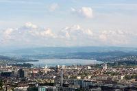 Zürich in der Schweiz, Panorama