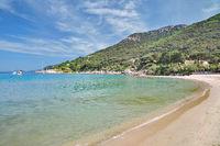 Strand von Sant Andrea,Insel Elba,Toskana,Mittelmeer,Italien