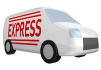 Express Lieferwagen