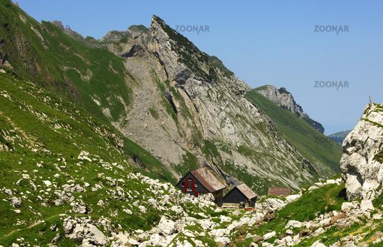 Berggasthaus Mesmer, Alpstein, Schweiz