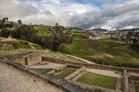 Ingapirca, Inca wall and town, largest known Inca ruins in Ecuador