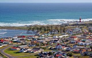 Am Kap Agulhas in Südafrika