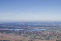 Tiefblick zum Staffelsee mit Murnau