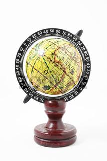 Vintage Wooden Old Globe