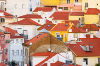 Lisbon traditional architecture Background Portugal