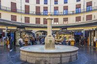 Plaza Redonda Market, Valencia, Spain