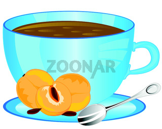 Cup with drink