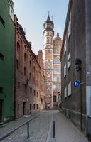 View of archaeological museum in Gdansk