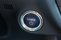 Power button of a car