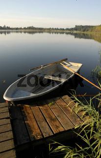 Das Boot im Spreewald