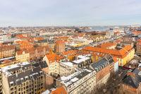 Copenhagen Aerial view