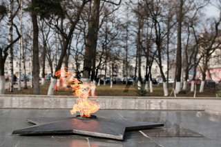 eternal flame monument