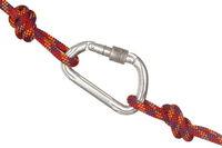 Haken verbindet zwei Seile