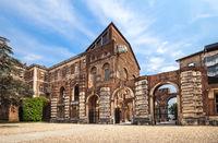 The Rivoli Castle near Turin, Italy