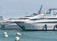 Juan Carlos 1 Marina in Valencia Spain