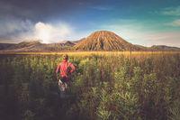 Trekking towards Gunung Bromo