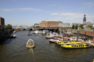 Binnenhafen in Hamburg