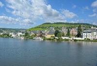Weinort Traben-Trarbach an der Mosel,Rheinland-Pfalz,Deutschland