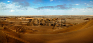 Landscape with sand dunes near Swakopmund Namibia