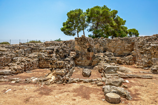 Archaeological site of Phaistos on Crete, Greece