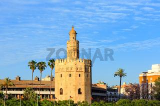 Tower of Gold, Seville, Spain.