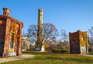 Am Wasserturm Prenzlauer Berg, Berlin, Deutschland