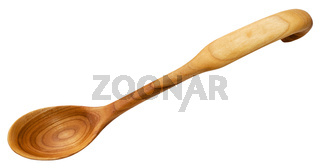 traditional wooden spoon carved from Alder wood