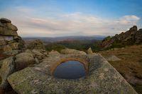Nature baths on Sinyukha mountain