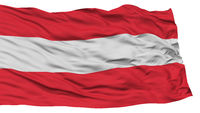 Isolated Austria Flag