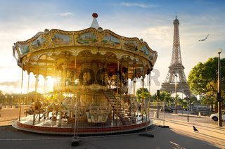 Carousel in Paris